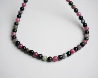 Elegant Verdelite necklace