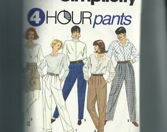 Simplicity Misses' Pants and Shorts Pattern 7941