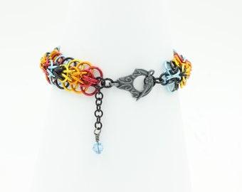 Azidahaka bracelet chainmail
