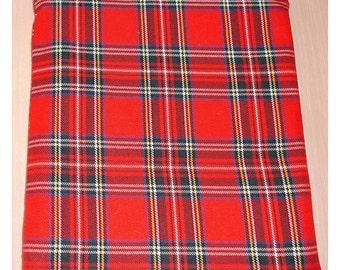 Plaid iPad Mini Sleeve Red Tartan Check iPad Case Cover