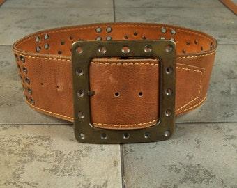 Magnificent Vera Vintage Leather Belt ret