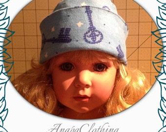 Flannel Cap Hat (Newborn)