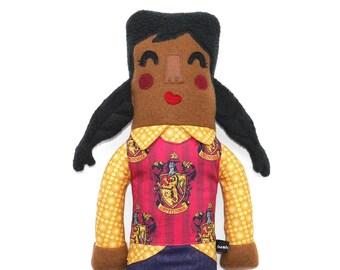 Aurora von Gryffindor Haus Plüsch Puppe, Mädchen, harry Potter, harry Potter Fan Geschenk, Zöpfe, Stuffie, kuschelig, kinderfreundlich