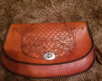 Hand made wrist purse