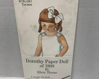 Vintage Dorothy Paper Doll of 1908