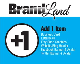 Add-On to previous Logo Purchase - 1 Item