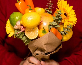 Get Well Soon! Unusual Edible Bouquet