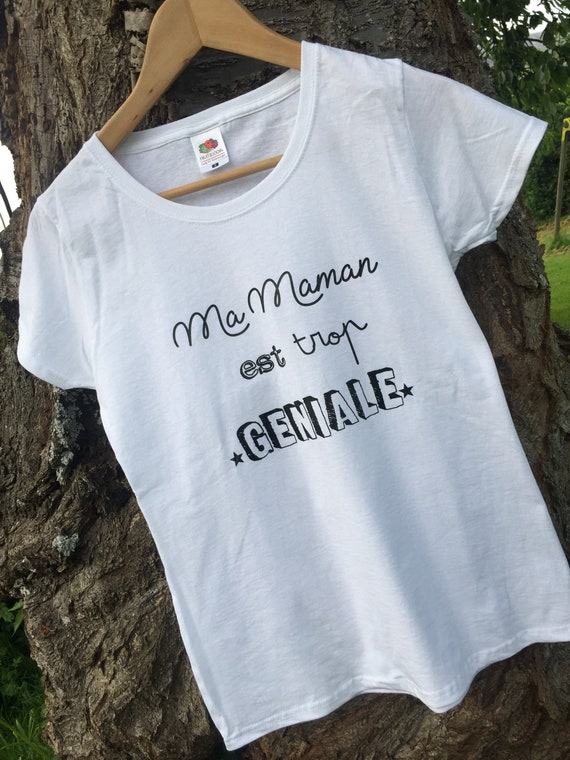 """T-shirt """"my mom is so awesome"""""""