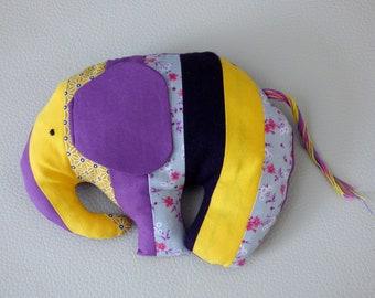 Plush elephant Jordy/Elephant plush fabric
