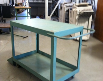 Heavy Duty Metal Shop Cart PRICE REDUCED!!!