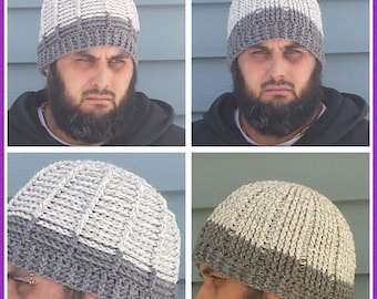 Big Joe Reversible Hat Crochet Pattern