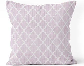 purple pillow cover, lavender pillow cover, girl bedroom  for teen girl, light purple, geometric pillow cover, teen beddingr, playroom decor