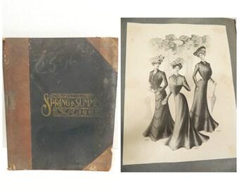Victorian's Women's Catalog...1902 Fashion Plates...Gibson Girl...Spring & Summer Dresses Skirts...