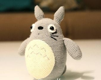 Totoro Anime Amigurumi Doll Crochet doll handmade crochet doll