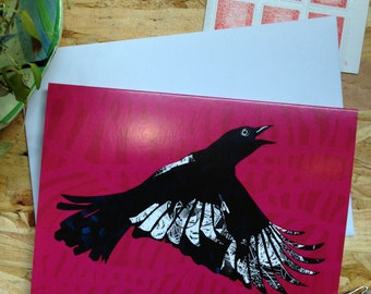 Magpie // Greetings Card - Blank