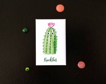 Kühlschrank Magnet, Kaktus Illustration, Kaktus Magnet, Kaktus Deko, Küchen Deko, Kaktus Spruch, Sukkulenten Motiv, Adventskalender, Kakteen