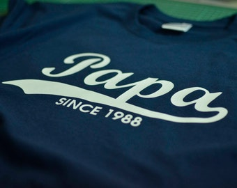 Papa shirt, Grandpa shirt, Daddy shirt, Dad shirt, Father's Day gift, Christmas gift, father gift for papa tshirt, Grandfather shirt