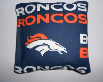 Broncos Corn hole Bags