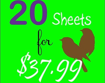 Choose Any 20 Beautiful Tile Digital Images and Graphics - Value of  45 - 60 Dollars-Scrabble, One Inch, 7/8 Inch and Rounds All Included