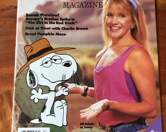 Totally Rad 1988 Fall Snoopy Magazine featuring Jill Schultz