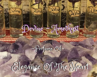 Devine~ Amethyst perfume oil