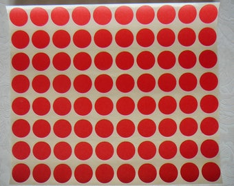 PCs red pellets for scrapbooking, cardmaking... by 80
