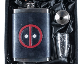 Merc with a Mouth Geek Flask Set
