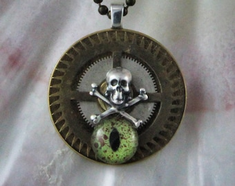 Steampunk Air Pirates Necklace