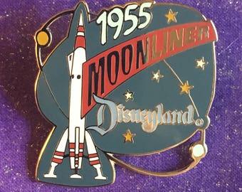 1998 Disneyland Tomorrowland Moonliner Attraction Series Pin Rare DLR