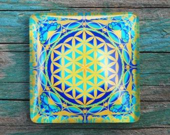 The Flower of life I mandala magnet