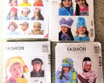 Helmet, Cap, bonnet baseball Hat, scarf 4 fleece Fabric Patterns..start a Business