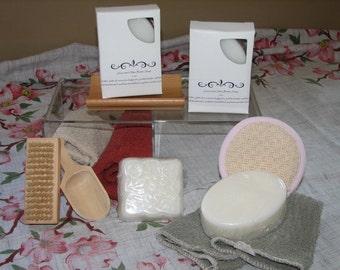 Shea Butter Soap No Dye No Fragrance 6 oz