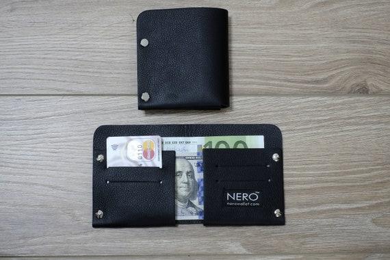 Bifold Wallet, Mens Wallet, Minimalist Wallet, Womens Wallet, Leather Wallet, RFID Wallet - RFID Blocking