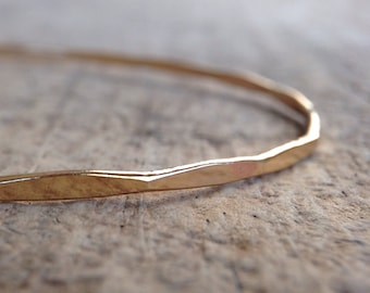 Gold Marquise Bangle, Diamond Bracelet, Gold Diamond, Marquis Bracelet, 14K Gold Fill Bangle, Gold Bangle, Stackable Bangle, Boho Luxe