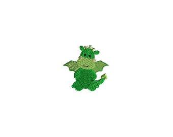 Mini Dragon Machine Embroidery Design-INSTANT DOWNLOAD
