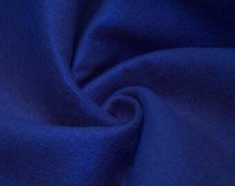 """Abby ROYAL BLUE 72"""" Acrylic Felt Fabric by the Yard - 10030"""