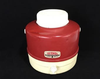 Vintage Thermos Jug * 1 Gallon Insulated Thermos * Picnic Supplies