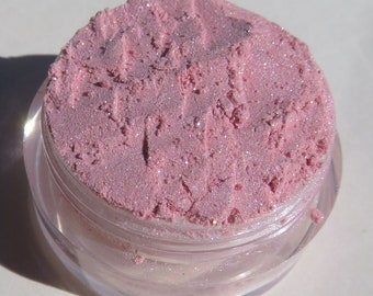 Pale Baby Pink Mineral Eyeshadow | White Shimmers | Loose Pigments | Cruelty-Free | Vegan Pink Eye Shadow - Jewels