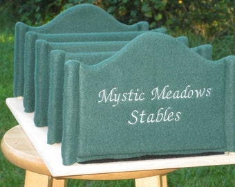 ADD A NAME to Your Stable Stalls