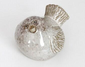 Vintage Pottery Bird
