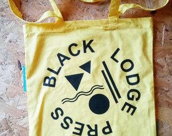 Black Lodge presse nouveau sac fourre-tout