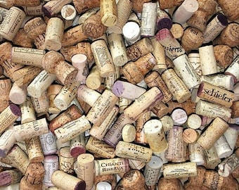 100 Wine Corks, Used Wine Corks, All Natural Corks, Recycled Wine Corks, Wine Wedding, Wine Crafts