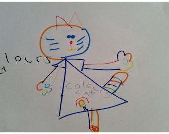 Colours Cat (Prints)