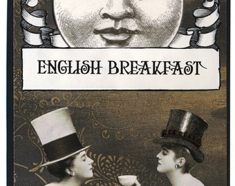 Xandria & Isolde Take Tea PRINT