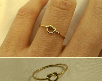 Knot ring gold 18kilates Knot ring gold 18 k