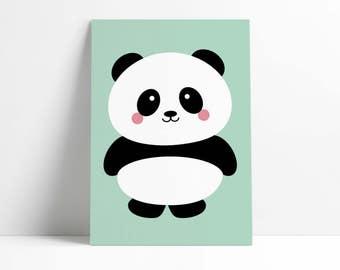 Postcard PandaMint