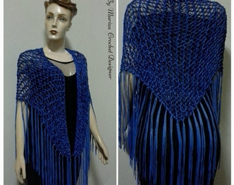 Kniting    Blue  Xale