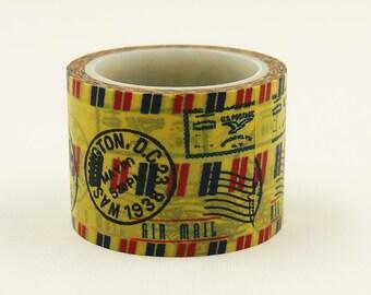 courriel - Japanese Washi Paper Masking Tape - 30mm wide - 5.5 yard