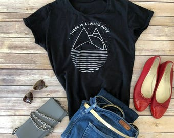 FACT goods There is Always Hope Women's short sleeve t-shirt
