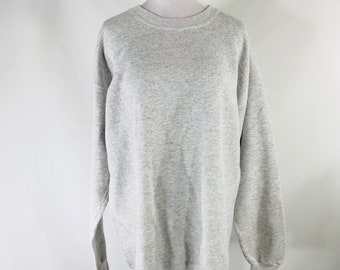 Vintage 90s JCPenney Olympic USA Gray Embroidered Crewneck Sweatshirt Size XL